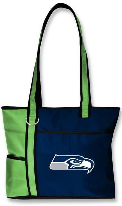 Neuf Gameday Fourre-Tout Porte-Monnaie Sac NFL Licence Seattle Seahawks Brodé