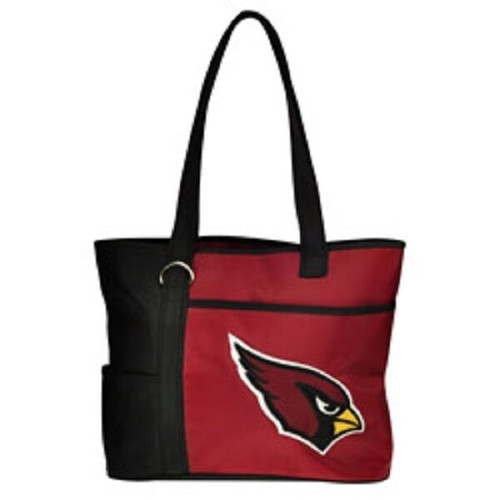 New Gameday Tote Purse Bag NFL Licensed ARIZONA CARDINALS Embroidered Logo gift