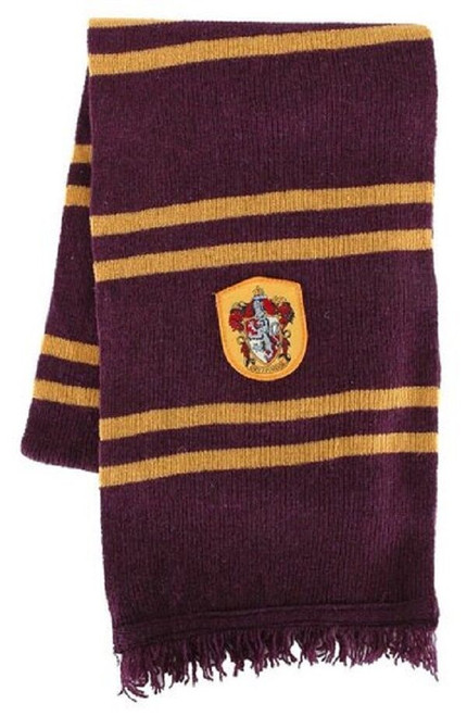 New Harry Potter GRYFFINDOR SCARF Halloween Costume Theater Red & Gold gift
