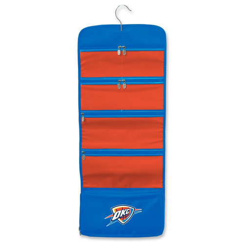 New NBA Travel Hanging Toiletry Cosmetic Organizer License OKLAHOMA CITY THUNDER