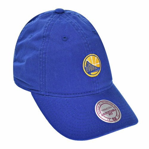 New Mitchell & Ness GOLDEN STATE WARRIORS  Strap back Dad Hat Blue Men Women