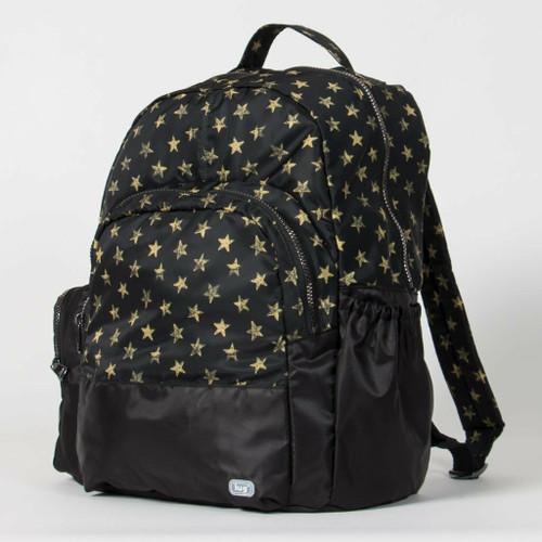 New Lug Travel Echo PACKABLE Backpack School Work Gym ROCKSTAR Black gift