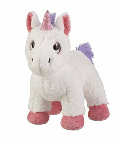 New Baby Ganz Radiance Light Up UNICORN with Chime White 10 inches gift Unisex