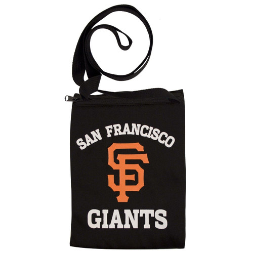 New Gameday Jersey Pouch Small Purse Bag MLB Licensed SAN FRANCISCO Giants Black