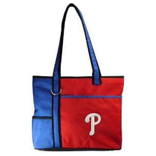 New MLB Carryall Gametime  Tote Bag Purse Licensed PHILADELPHIA PHILLIES gift