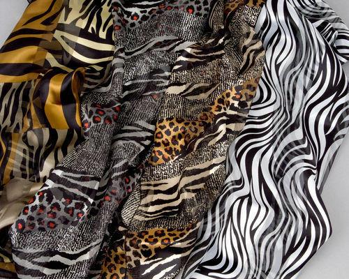 New Fashion Silk Feel Polyester Scarf Great for Bandanna, Neck scarf or Bag Scar