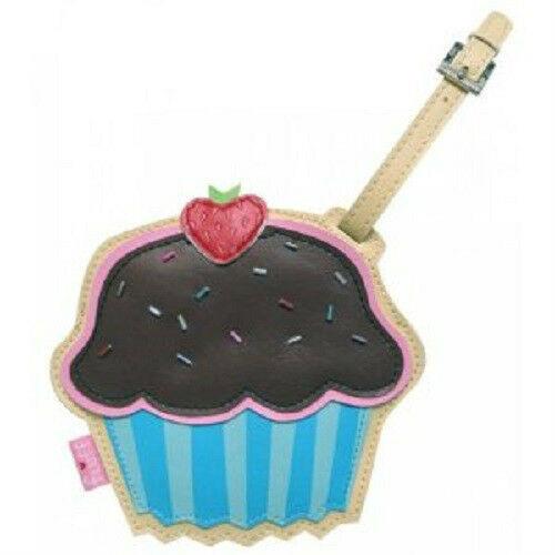 New Acme FLUFF Luggage Tag CHOCOLATE  CUPCAKE  Dessert Series yummy cute gift