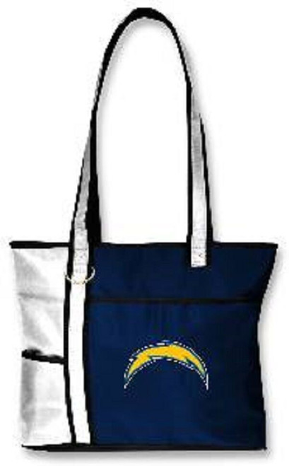 New Gameday Tote Purse Bag NFL Licensed SAN DIEGO CHARGERS Embroidered Logo