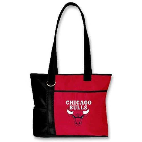 New Gameday Tote Purse Bag NBA Licensed CHICAGO BULLS  Embroidered Logo gift