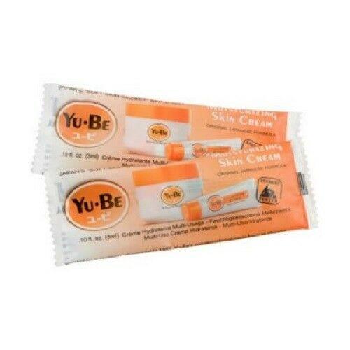 New YU-BE  YuBe Moisturizing Skin Cream Lot of 10 Samples Stocking Stuffer gift