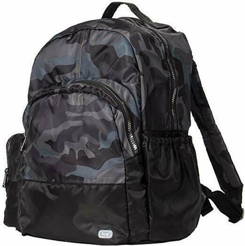 New Lug Travel Echo PACKABLE Backpack School Work Gym CAMO BLACK Lightweight