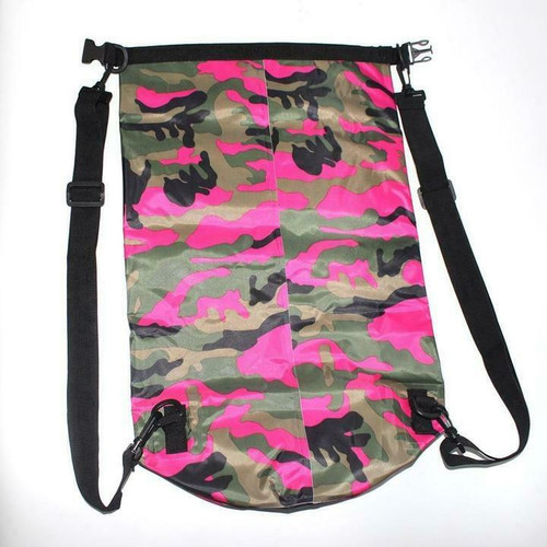 New Ocean Pack Dry Bag Water Proof Backpack Bag Sea Snow 30L  X-Large CAMO PINK