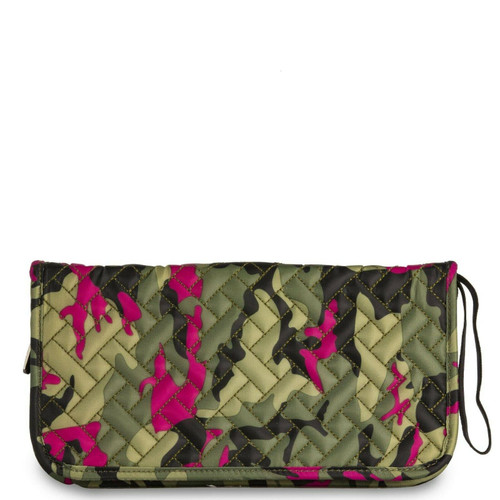 New Lug TANGO Travel Wallet Organizer RFID Passport Holder CAMO ORCHID Green