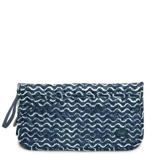 New Lug TANGO Travel Wallet Organizer RFID Passport Holder WAVES NAVY Blue gift