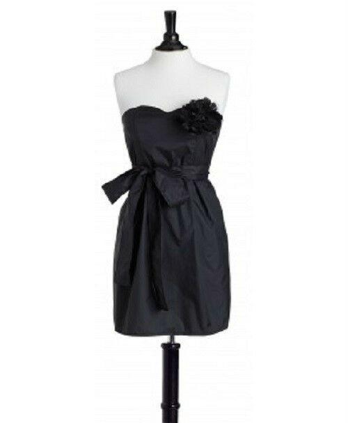 New Jessie Steele Linen BIB STRAPLESS Apron BLACK Sexy Salon gift Stylist