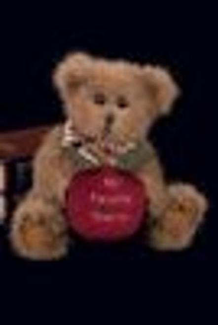 Bearington BEARY BEST TEACHER  Bear Apple Scented