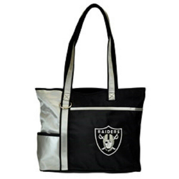 New Gameday Tote Purse Bag NFL Licensed OAKLAND RAIDERS Embroidered Logo gift