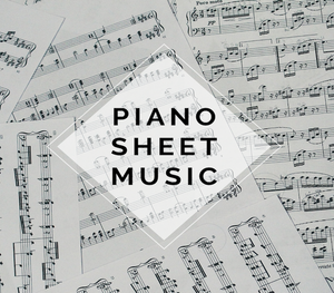 PIANO Minimal Beat Sheet Music