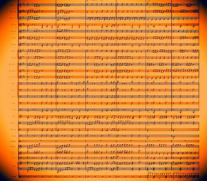 BAND - Crystallize - Sheet Music
