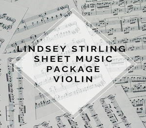 Lindsey Stirling Signature Album Sheet Music Package