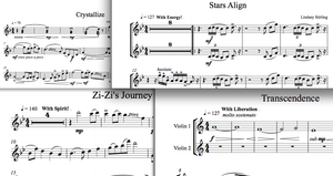 Lindsey Stirling Signature Album - Sheet Music Package