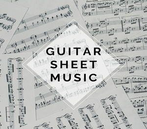 GUITAR V Pop Sheet Music w/ KARAOKE