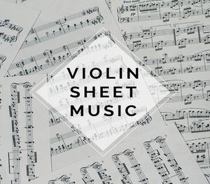 Violin Rock Sheet Music w/ KARAOKE