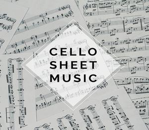 CELLO Carol of the Bells Sheet Music w/KARAOKE