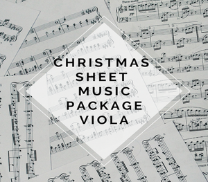 VIOLA Christmas Sheet Music Package