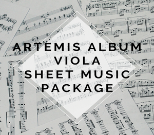 Artemis Album VIOLA Sheet Music Package