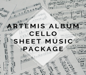 Artemis Album Cello Sheet Music Package