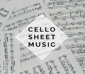 CELLO Crystallize Sheet Music w/ KARAOKE