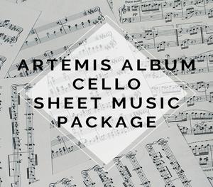 Artemis Album Cello Sheet Music Package