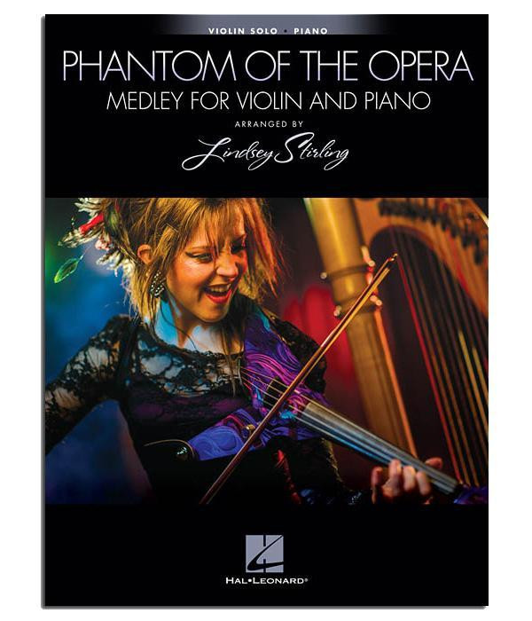 Phantom of the Opera Medley Sheet Music (Book) w/ Piano Accompaniment