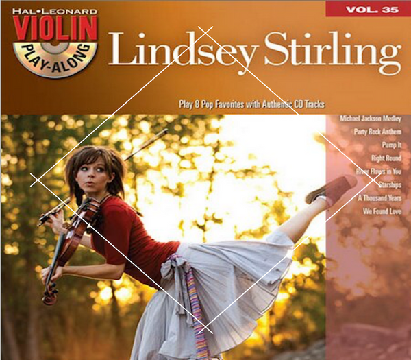 Lindsey Stirling Covers Play Along Book