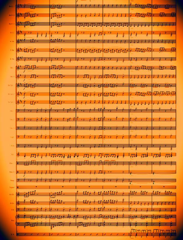 BAND - Celtic Carol - Sheet Music