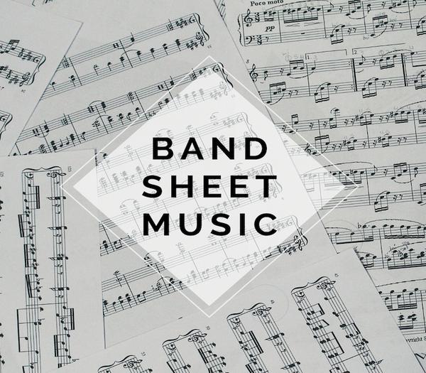 BAND Celtic Carol Sheet Music