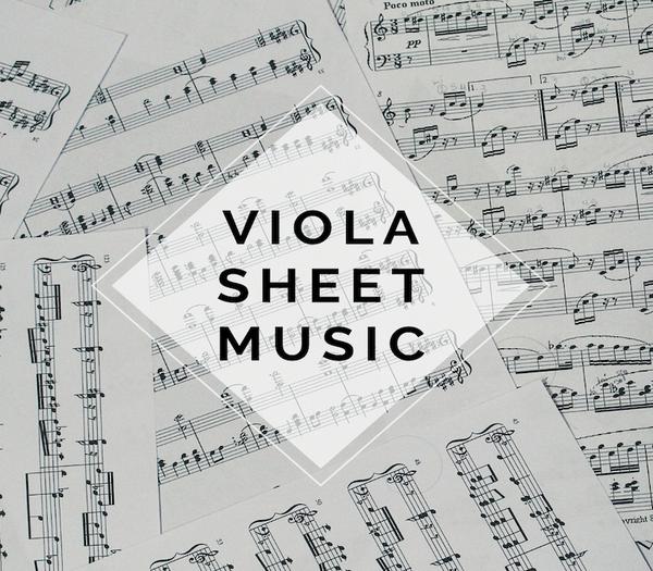 VIOLA Rock Sheet Music w/ KARAOKE