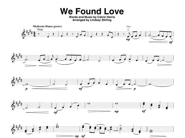 We Found Love Duet
