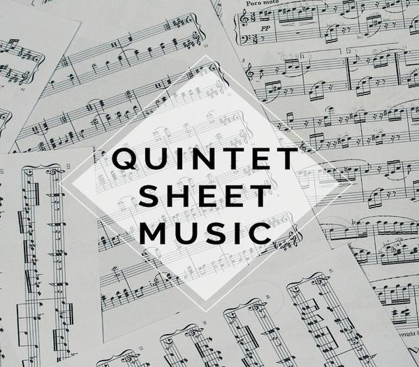 Brass Quintet Shatter Me Sheet Music