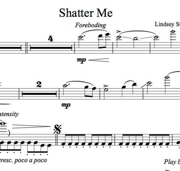 VIOLA Shatter Me Album - Sheet Music Package