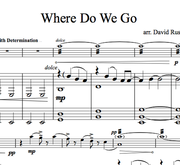 VIOLA Where Do We Go w/ KARAOKE Play-Along Tracks - Sheet Music