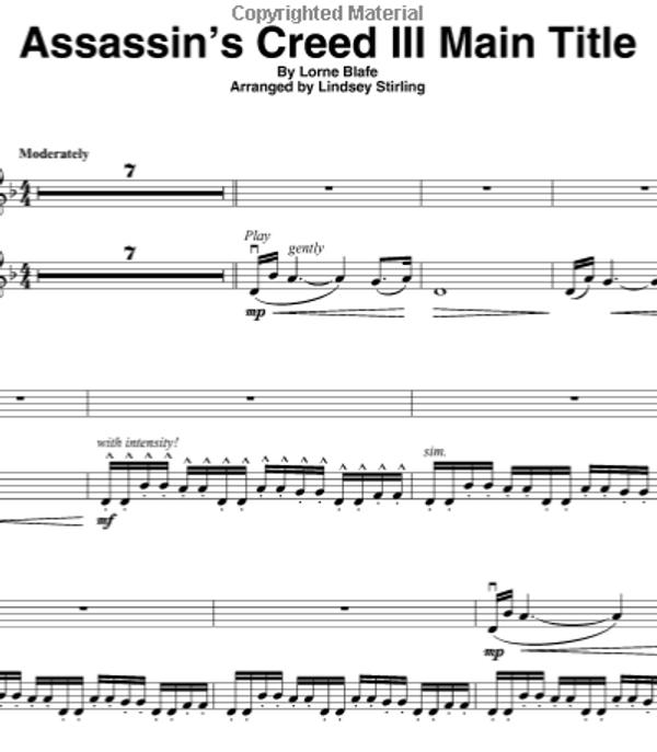 Assassin's Creed III Main Title