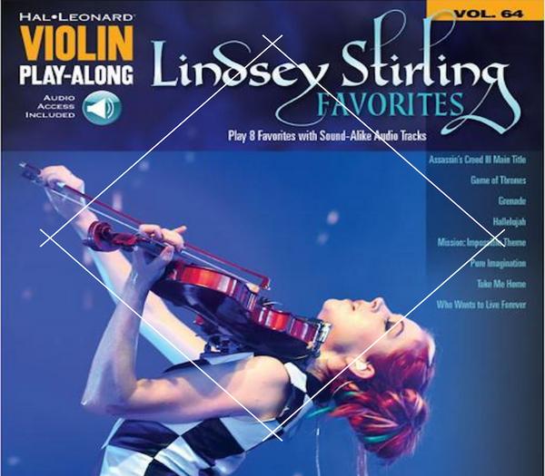 Lindsey Stirling Favorites Play Along Book