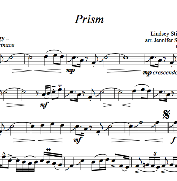 Prism w/ KARAOKE Play-Along Tracks - Sheet Music