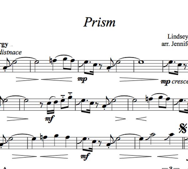 VIOLA Prism Sheet Music w/ KARAOKE
