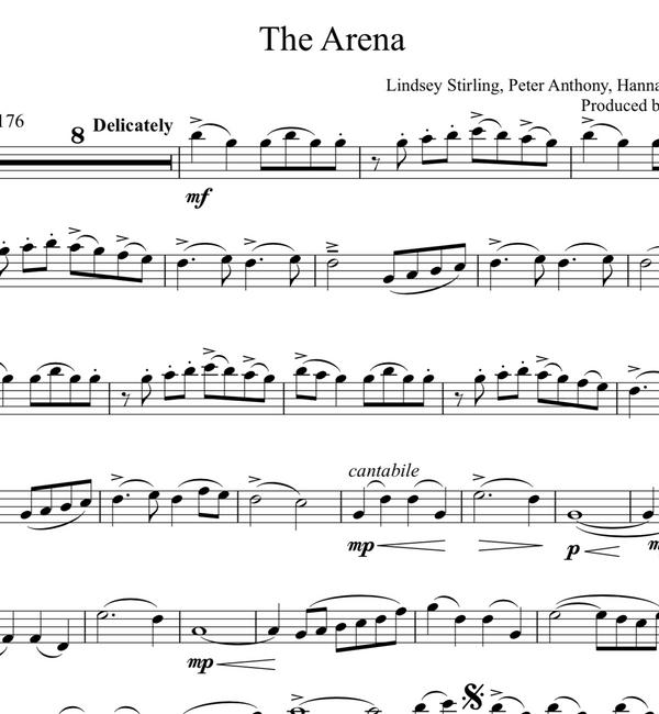 VIOLA The Arena w/ KARAOKE Play-Along Tracks - Sheet Music
