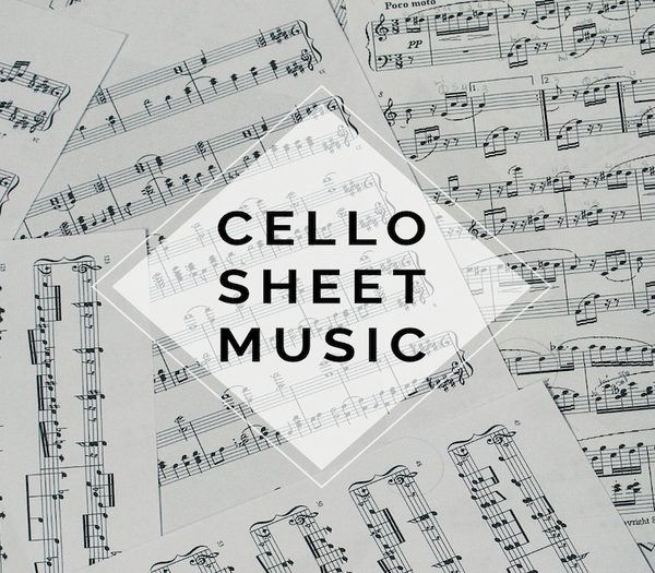CELLO Hold My Heart Sheet Music w/ KARAOKE