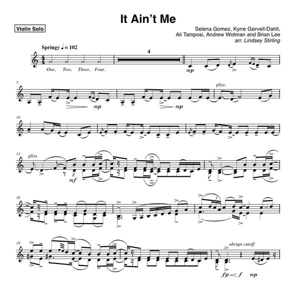 It Ain't Me w/ Karaoke Play-Along Tracks