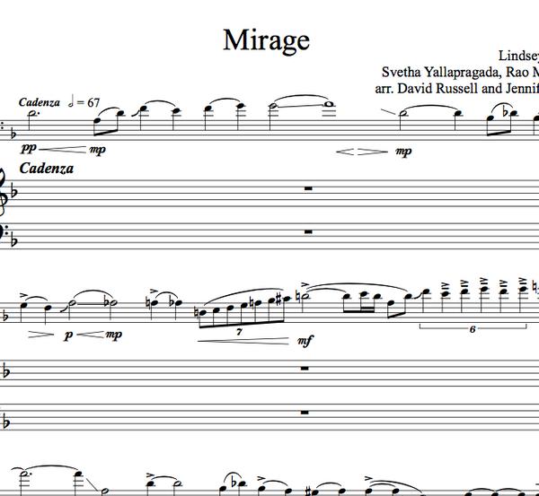 CELLO - Mirage w/ KARAOKE Play-Along Tracks - Sheet Music